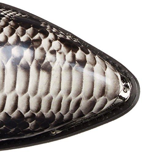 Laredo Men's 68067 Monty Western Boot,Black / White,11 XW US