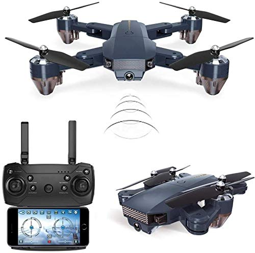 SUPER TOY Wi-Fi Camera Drone Professional Quadcopter with 2.4G Rc Helicopter Toy. Mini Pocket Drone...