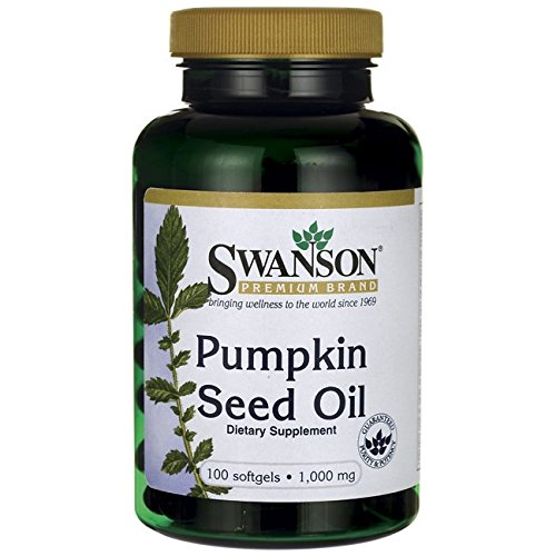 Swanson Pumpkin Seed Oil 1,000 mg 100 (Swanson Products)