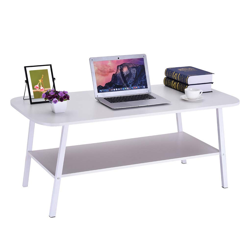 Modern Coffee Tables for Living Room with Storage, Simple Design Rectangular Sofa Table (Simple Design) by Youen