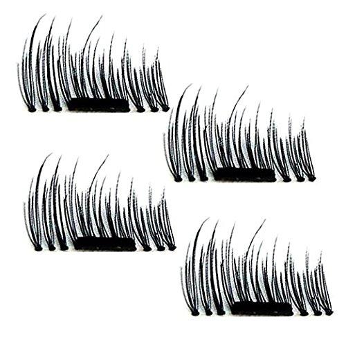 Potou-Magnetic-False-Eyelashes-1-Pair-4-Pieces-Ultra-thin-02mm-Magnetic-Eye-Lashes-3D-Reusable-Magnet-Eyelashes-Extension