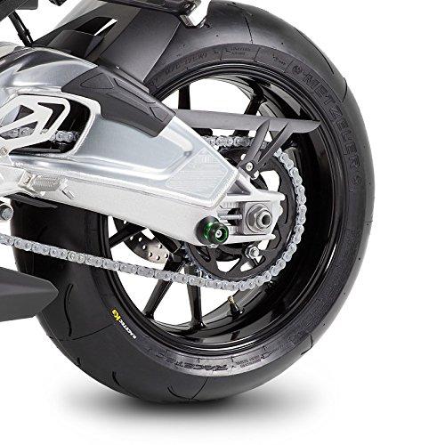 Diabolos Le Mans M8 vert pour Kawasaki Ninja 650 Versys 650 Z 650// 900 Z 1000// SX Z 800// 800 e ZX-6R 636 ZX-10R