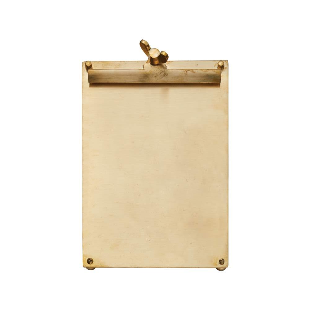 Pendulux OBSCLBR Scribner Notepad Brass Large