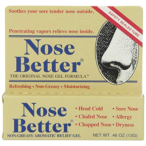 Aromatic Nose Ointment - Nose Better Gel - 0.46 oz