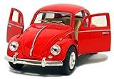 Kinsmart Red 1967 Classic Die Cast Volkwagen Beetle