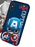 iPhone 8 Plus, Captain My Captain, Captain Case for iPhone 8 Plus 5.5 inches,screen protector for iphone 8 plus 5.5 inches, captain