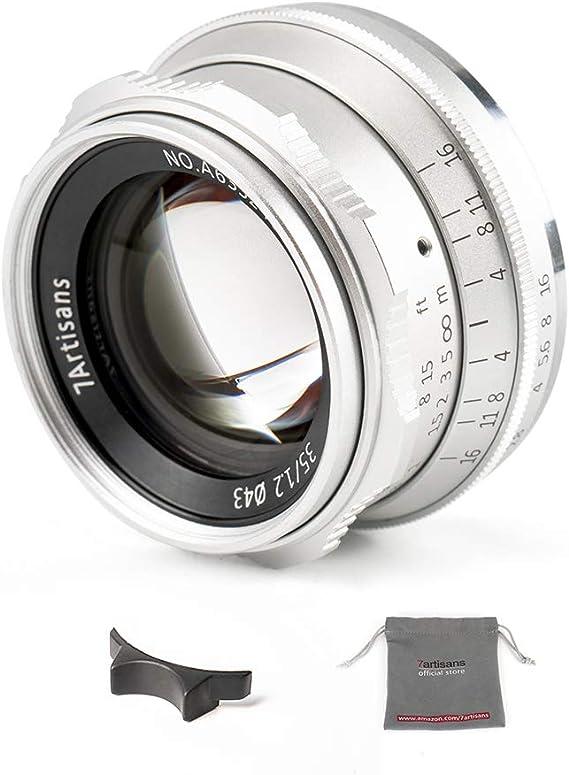 Camera & Photo Lenses 7artisans 35mm f1.2 Mark II APS-C Clicked ...