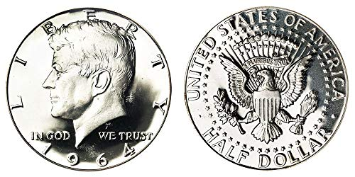 1964 Kennedy Half Dollar Half Dollar Brilliant Uncirculated