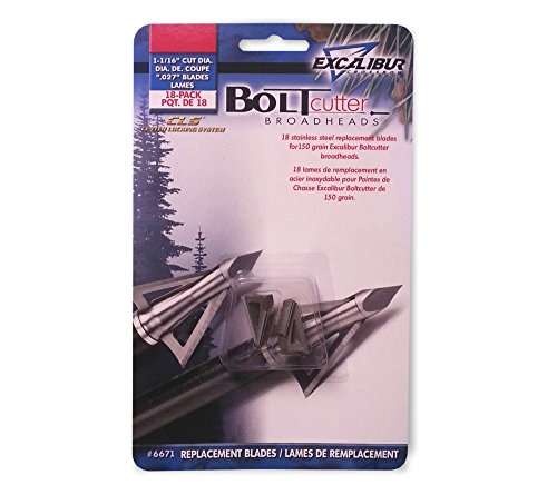 """Excalibur Replacement Blades 18-Pack 1-1/16"""" Cut for Boltcut"""