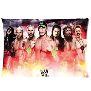Custom WWE World Wrestling Entertainment Rectangle Pillow Cases Pillowcase Cover 20x30 (two sides)