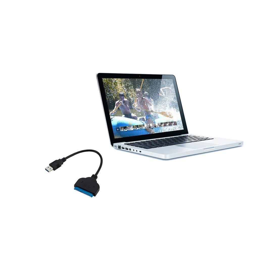 Yogasada Cable de Adaptador USB 3.0 a SATA de 22 Pines para Disco Duro de Disco Duro Externo SSD HDD de 2,5Azul