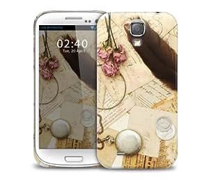 taoyix diy vintgae green paper Samsung Galaxy S3 GS3 protective phone case