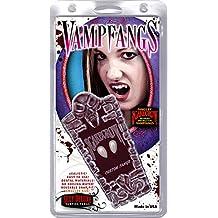 Vampfangs Small Vampire Fangs by Custom Fit Vampire Teeth Fang Caps - Halloween Costume Fangs Custom Fit To Your Own Teeth