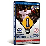 2007 World Series Game 1 - Boston Red Sox 13, Colorado Rockies 1