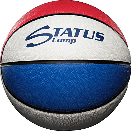 Sterling Status Comp Official Size 7 Composite Leather Red/White/Blue Game Basketball