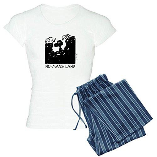 CafePress No-Man's Land - Womens Novelty Cotton Pajama Set, Comfortable PJ Sleepwear