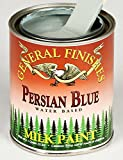 General Finishes Water Based Milk Paint Persian Blue Quart