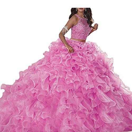 hot pink 15 anos dresses - 1