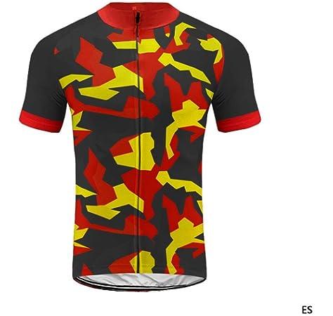 BurningBikewear Uglyfrog Ropa Conjunto Traje Equipacion Ciclismo Hombre Verano con 3D Acolchado De Gel, Maillot Ciclismo MES2019QXF03: Amazon.es: Deportes y aire libre