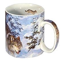 Reflective Art Inc Winter Realm Boxed Coffee Mug, 16 oz