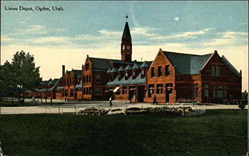 Union Depot Ogden, Utah Original Vintage Postcard ()