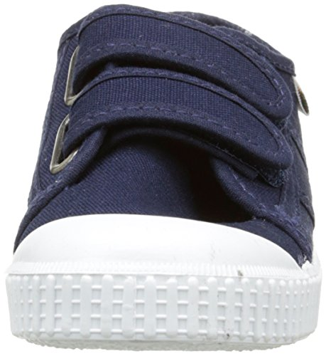 Victoria Basket Lona Dos Velcros - Zapatillas Unisex Niños Bleu (30 Marino)