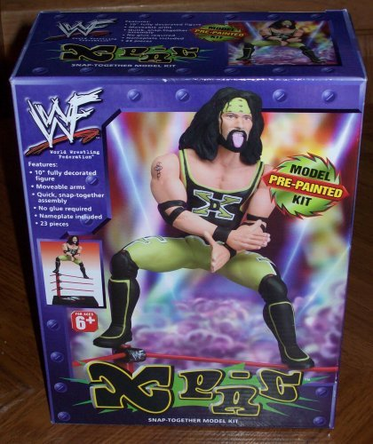 WWF X-Pac Pre-painted Snap-together Model Kit