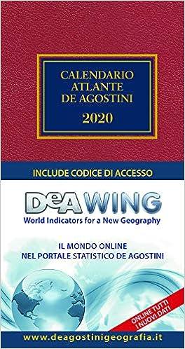 Amazon.it: Calendario atlante De Agostini 2020. Con applicazione