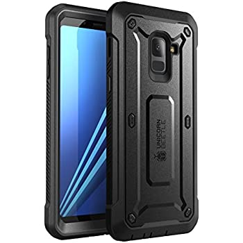 buy popular 78c3d 1a61c SUPCASE [Unicorn Beetle Pro Case for Galaxy A8 2018, Rugged Holster Cover  for Samsung Galaxy A8 2018 Release,with Built-in Screen Protector (Not ...