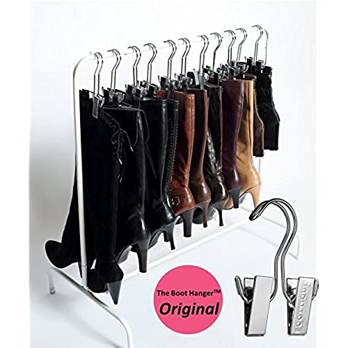 High Quality Boottique Boot Rack With 6 Silver Hangers