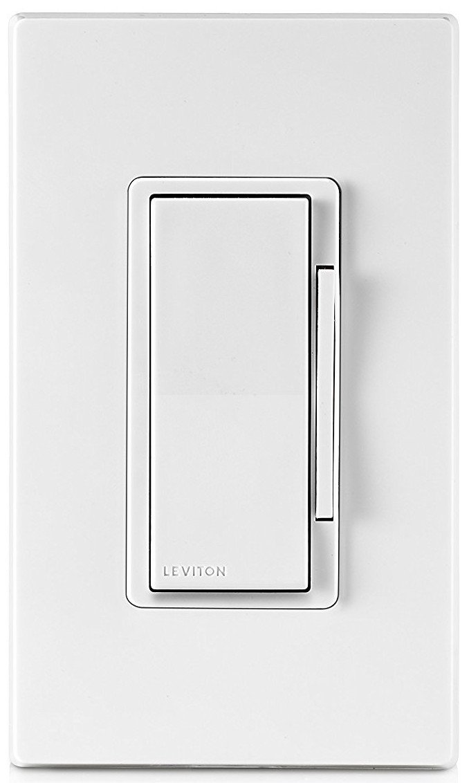 Leviton DZ1KD-1BZ Decora Smart 1000W Dimmer with Z-Wave Plus Technology, Works with Amazon Alexa (6 Pack) by Leviton (Image #4)