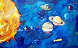 Cici Art Factory Wall Art, Solar System, Large