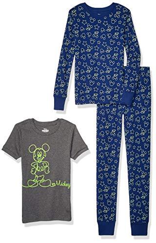 Spotted Zebra Boys' Snug-fit Cotton Pajamas Sleepwear Sets