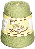 Lily Sugar 'N Cream Yarn, 14 Ounce Cone, Sage, Single Ball