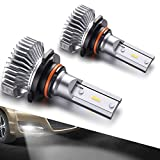 SEALIGHT-9145914090459040-LED-Fog-Lights-Bulbs-DOT-Approved-Cool-Xenon-White-4000-Lumen-6000K-Upgrade-Extremel