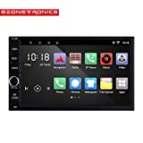 Ezonetronics Android 6.0 Quad Core Car Radio Stereo 2 Din 7 inch Capacitive Touch Screen High Definition 1024x600 GPS Navigation Bluetooth USB SD Player 2G DDR3 + 16G NAND Memory Flash CT0012