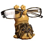 Dog Resin Eyeglass Holder,Animal Spectacle Holder Eyeglass Display Stand Sunglasses Holder Home Decoration