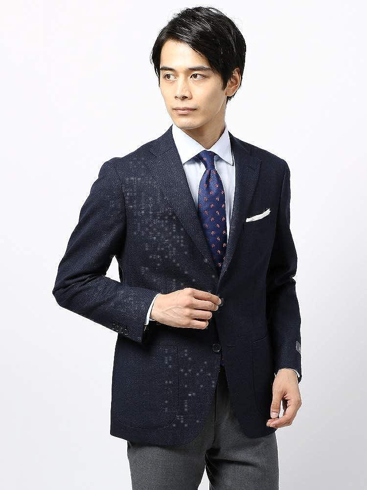 (ザスーツカンパニー) 秋冬/blazer's bank.com/ホップサックジャケット/Fabric by REDA/ネイビー B07GY46MWL 175cm8Drop(YA体)