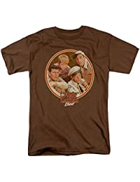 Andy Griffith Icon Boys Club Adult T-Shirt Tee
