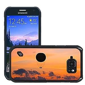Etui Housse Coque de Protection Cover Rigide pour // M00421594 China, Hong Kong Sunset Harbour // Samsung Galaxy S6 Active SM-G890 (Not Fit S6)