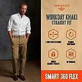 Dockers Men's Straight Fit Workday Khaki Smart 360