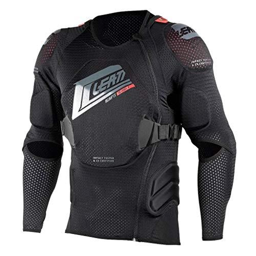 Leatt 5018101211 Body Protector 3DF AirFit (S/M) Black/Red