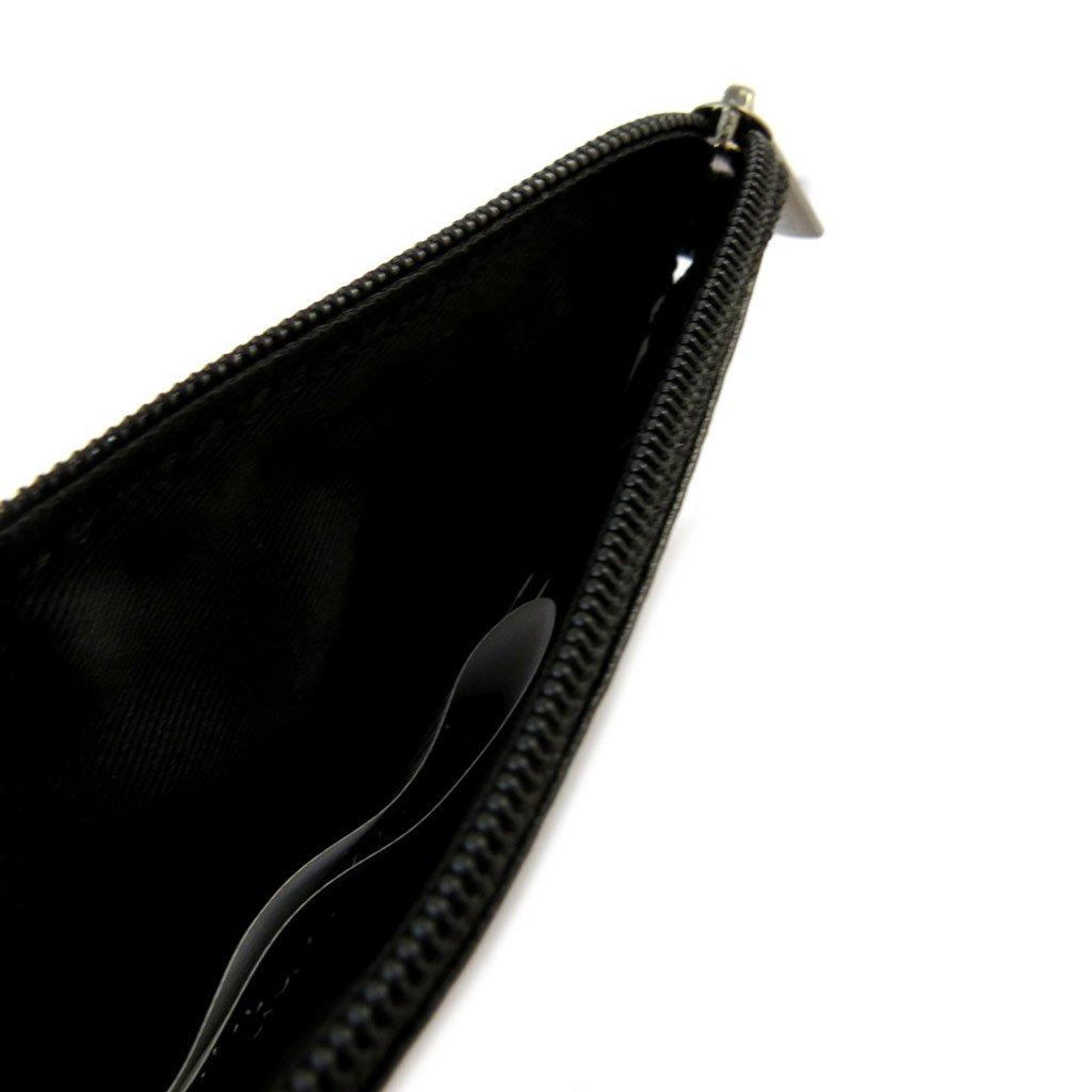 Monederos de cuero Mundide color negro de la vendimia ...
