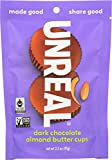 #10: UNREAL Dark Chocolate Almond Butter Cups, 3.2 Ounce (Pack of 6)