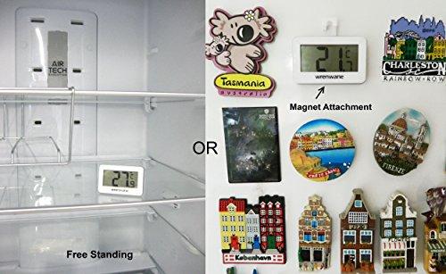 Wrenwane-Digital-Refrigerator-Freezer-Room-Thermometer-White