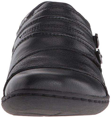 Clarks Womens Fianna Ellie Slip-On Loafer Black