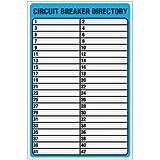CIRCUIT BREAKER DIRECTORY/9X6