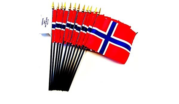Amazon com : MADE IN USA!! Box of 12 Norway 4