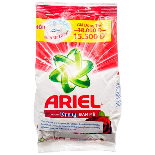 - New 377410 Ariel W/Downy 330G (36-Pack) Laundry Detergent Cheap Wholesale Discount Bulk Cleaning Laundry Detergent Hair Brush