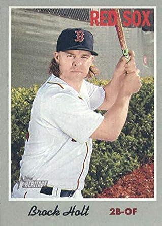 2014 Topps Update Series #US-39 Brock Holt Boston Red Sox Baseball Card Verzamelkaarten, ruilkaarten
